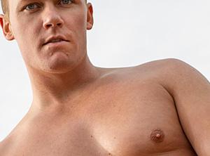 Male erotic model