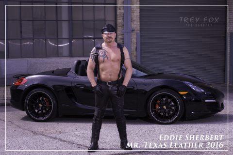 Mr. Texas Leather Eddie Sherbert by Trey Fox