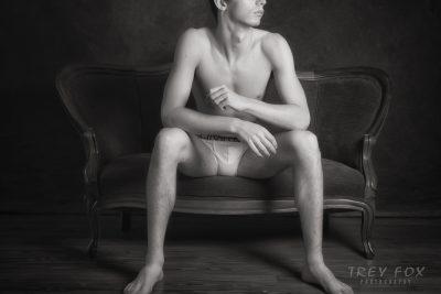 Sexy male underwear model | TreyFoxPhoto | Houston