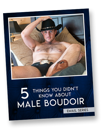 5 Things You Didn't Know About Male Boudoir Photography - Trey Fox