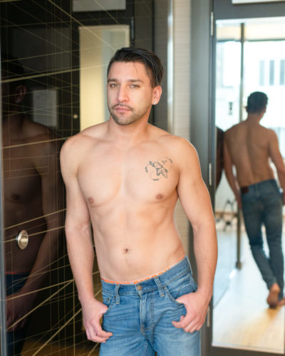 Hot shirtless guy. Nude male photography by Trey Fox | Houston