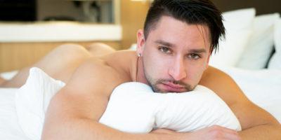 naked guy in bed | Boudoir for men photography |Trey Fox