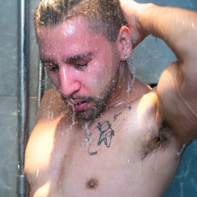 Hot shower guy | Boudoir for men | Trey Fox
